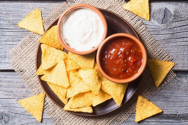 Air-fryer-tortilla-chips